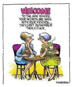 Aging But Dangerous Humor