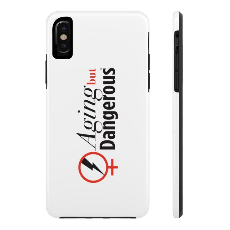 Aging But Dangerous Tough Phone Cases