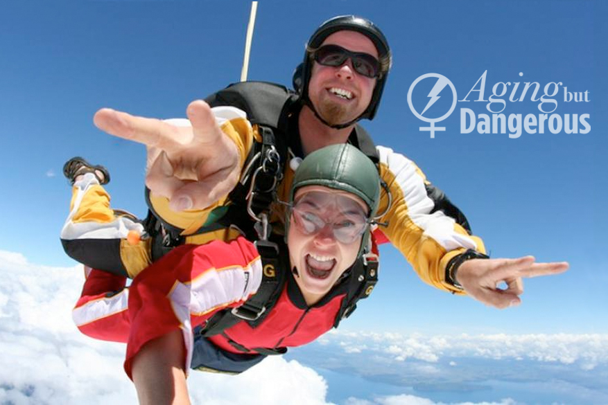 The Aging but Dangerous Annual Martini Jump Skydive Event!