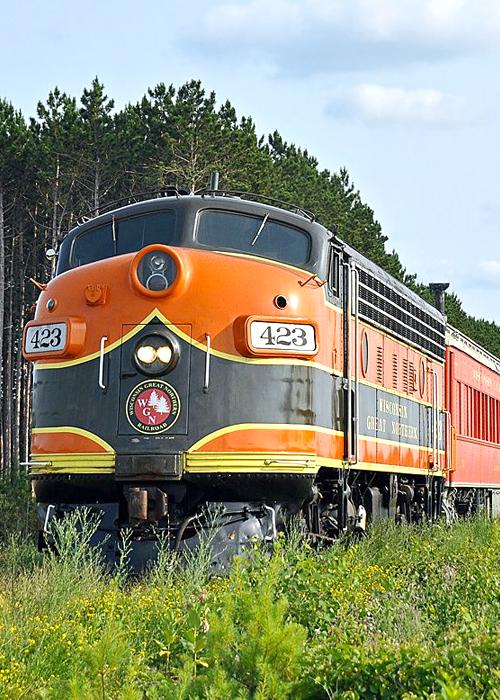 Spooner  WI B & B Train Ride